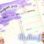【バレットジャーナル】マンスリーログ|8月のテーマはドリーミー❤【メイキング動画】